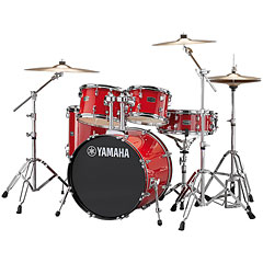 "Yamaha Rydeen 20"" Hot Red Bundle « Batterie acoustique"