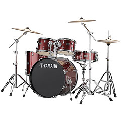"Yamaha Rydeen 22"" Burgundy Glitter Bundle « Drum Kit"
