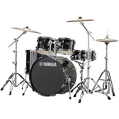 "Yamaha Rydeen 22"" Black Glitter Bundle « Drum Kit"