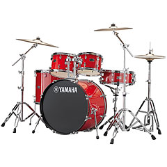 "Yamaha Rydeen 22"" Hot Red Bundle « Batterie acoustique"