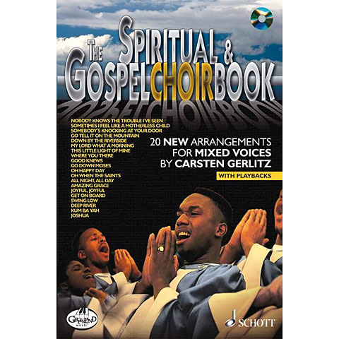 Schott The Spiritual & Gospel Choirbook