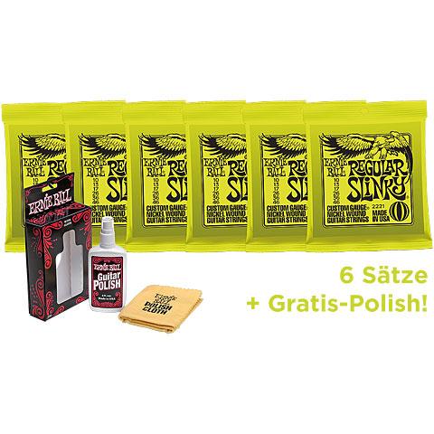 Ernie Ball Slinky EB2221 6 Pack