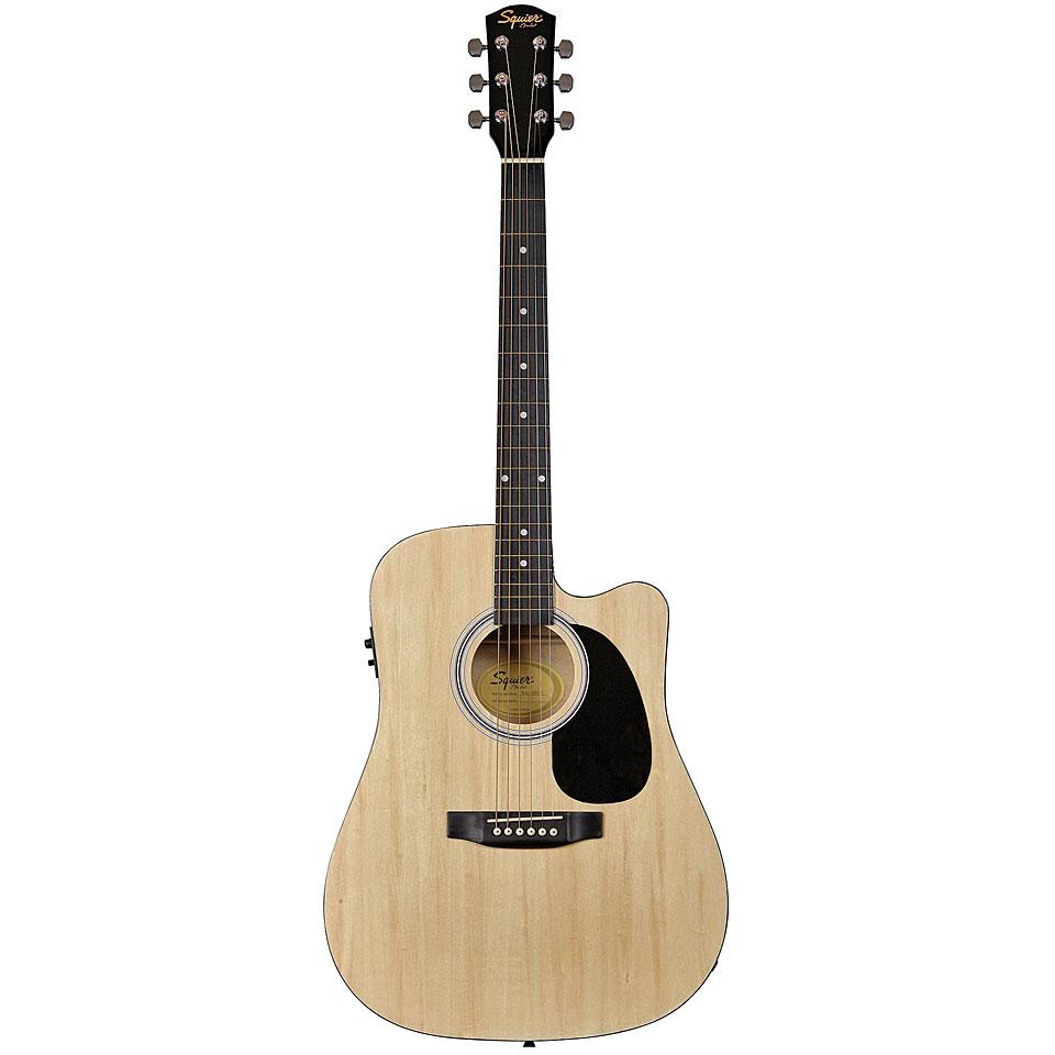 Westerngitarren - Squier SA 105CE NT Westerngitarre - Onlineshop Musik Produktiv