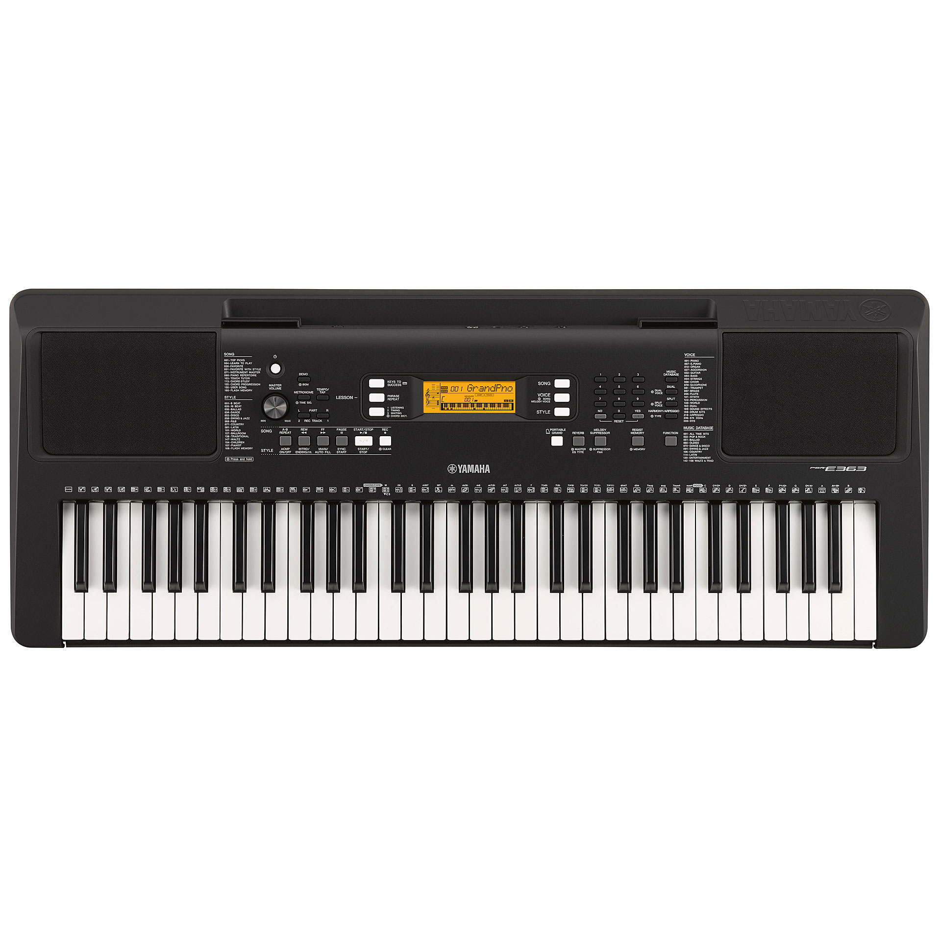 Image result for Yamaha PSR e363 from yamaha