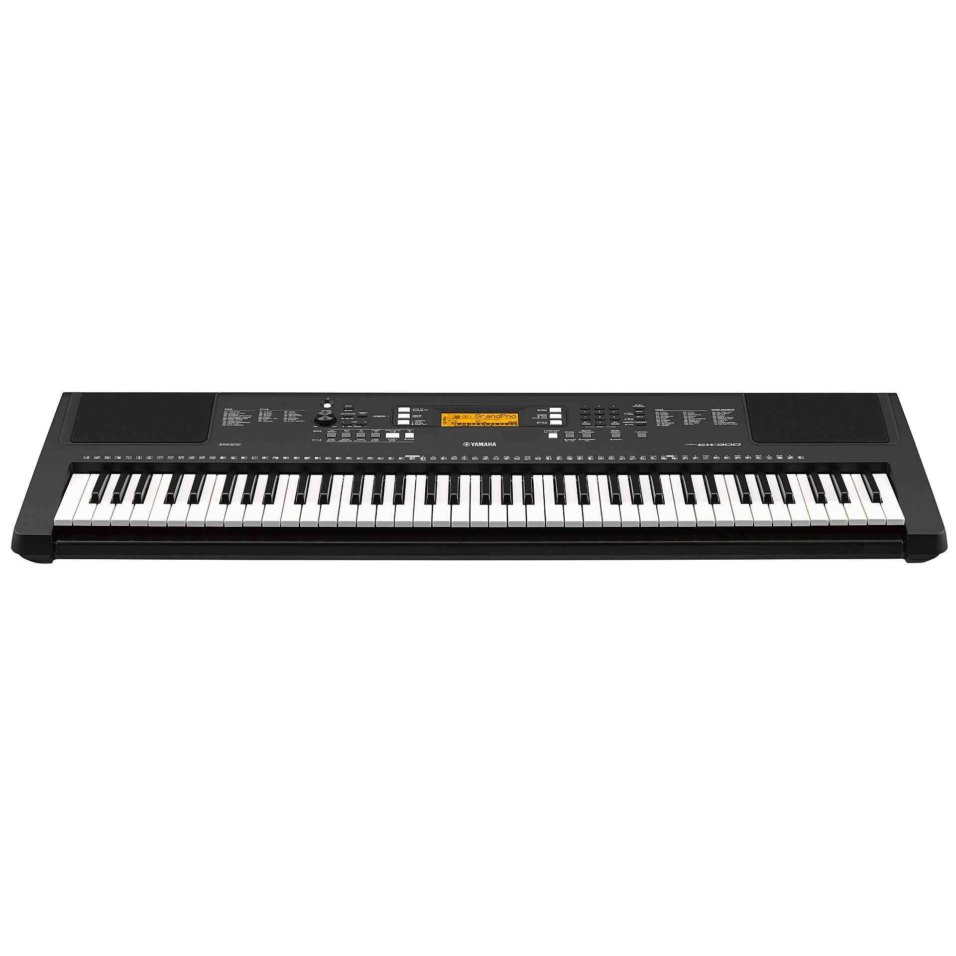 yamaha psr ew300 keyboard