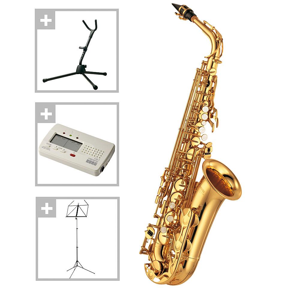 Saxophone - Yamaha YAS 280 Set Altsaxophon - Onlineshop Musik Produktiv