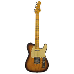 Haar Traditional T aged, 2Tone Sunburst, Flamed MN « Electric Guitar