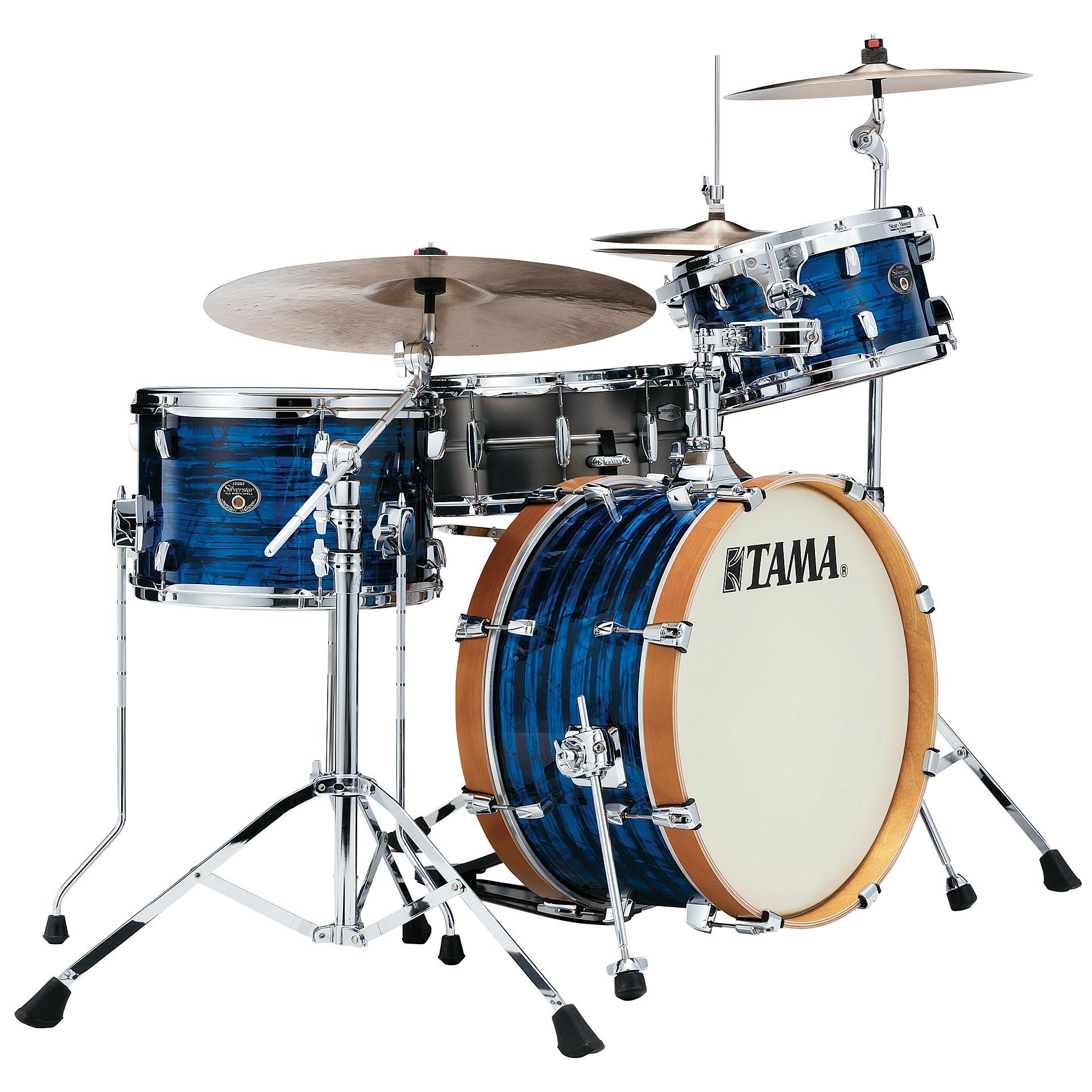 Tama silverstar blue onyx vintage shellset drum kit for Classic house drums