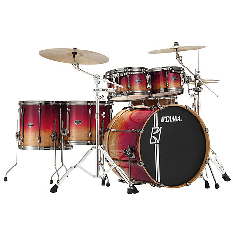 Tama Superstar 22  Figured Ruby Fade Limited Edition