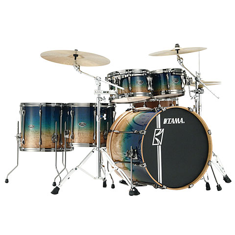 Tama Superstar Custom 22  Figured Ocean Fade Limited Edition