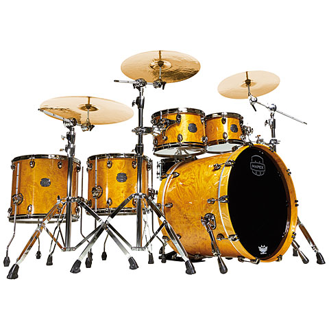 Mapex Saturn V MH Exotic Serie 22  Amber Maple Burl