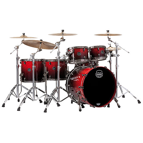 Mapex Saturn V MH Exotic Serie 22  Cherry Mist Maple Burl