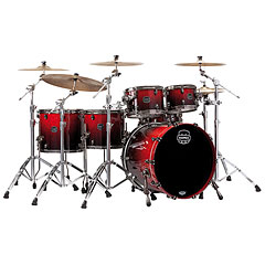 "Mapex Saturn V MH Exotic Serie 22"" Cherry Mist Maple Burl « Drumstel"