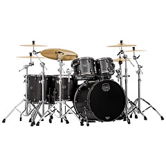 "Mapex Saturn V MH Exotic Serie 22"" Flat Black Maple Burl « Drumstel"