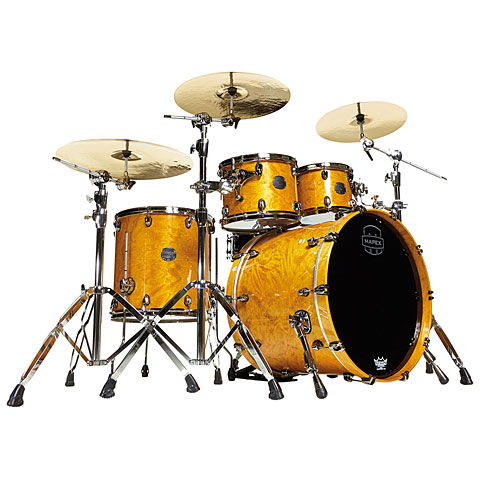 "Mapex Saturn V MH Exotic Serie 22"" Amber Maple Burl"