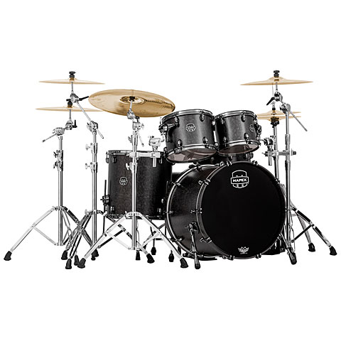 Mapex Saturn V MH Exotic Serie 22  Flat Blackt Maple Burl