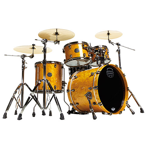 Mapex SaturnV MH Exotic Serie 20  Amber Maple Burl