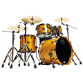 "Mapex SaturnV MH Exotic Serie 20"" Amber Maple Burl « Drum Kit"