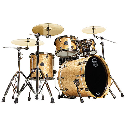 Mapex SaturnV MH Exotic Serie 20  Natural Maple Burl
