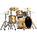 "Drumstel Mapex Saturn V MH Exotic Serie 20"" Natural Maple Burl"