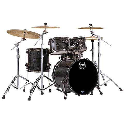 Mapex SaturnV MH Exotic Serie 20  Flat Black Maple Burl