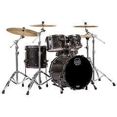 "Mapex Saturn V MH Exotic Serie 20"" Flat Black Maple Burl « Drumstel"