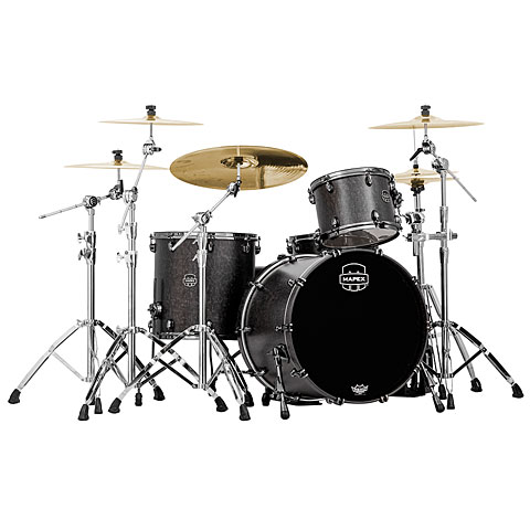 Mapex SaturnV MH Exotic Serie 22  Flat Black Maple Burl