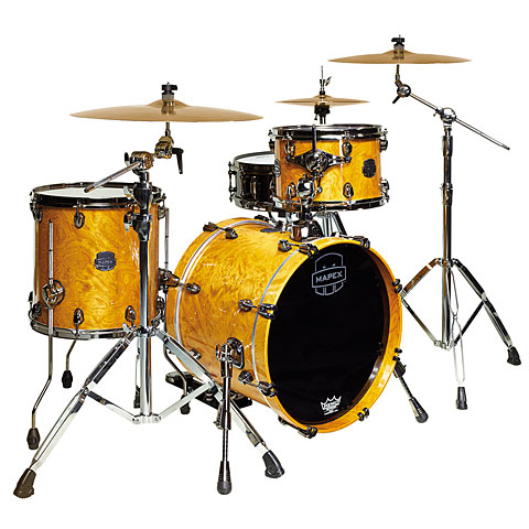 "Mapex Saturn V MH Exotic Serie 18"" Amber Maple Burl"