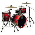 "Mapex SaturnV MH Exotic Serie 18"" Cherry Mist Maple Burl « Drum Kit"