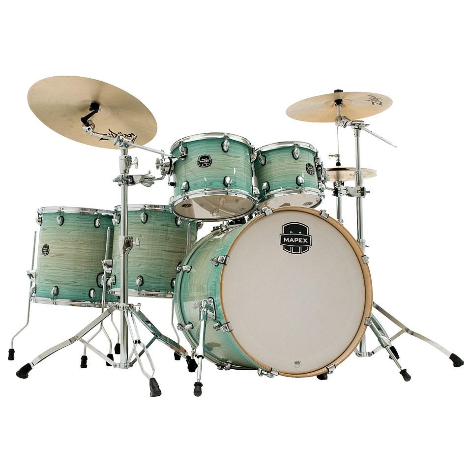 Akustikdrums - Mapex Armory 22 Ultramarine Shell Set Schlagzeug - Onlineshop Musik Produktiv