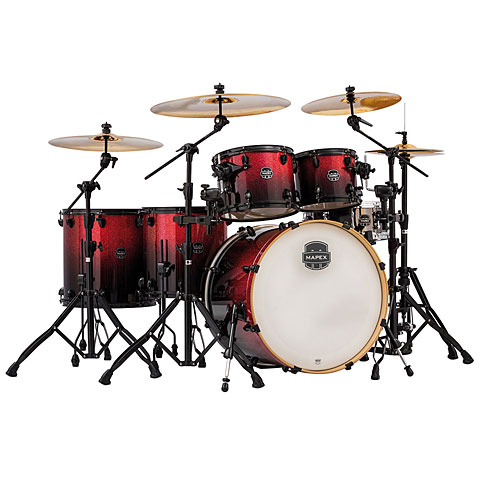 Mapex Armory 22  Magma Red Shell-Set