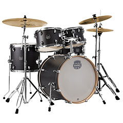 "Mapex Storm 20"" Ebony Blue Grain Drum-Set « Drum Kit"