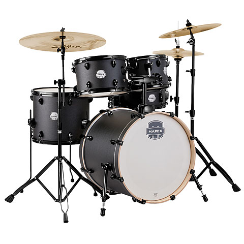 "Drumstel Mapex Storm 20"" Deep Black Drum-Set"
