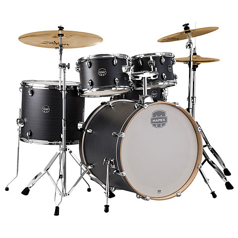 Mapex Storm 22  Ebony Blue Grain Drum-Set