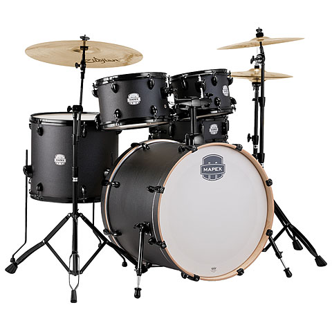 Mapex Storm 22  Deep Black Drum-Set