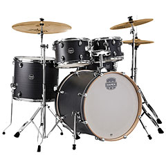 "Mapex Storm 22"" Ebony Blue Grain Drum-Set « Drum Kit"