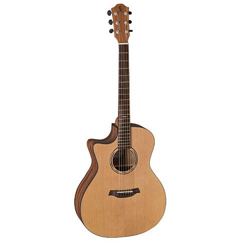 Guitare acoustique gaucher Baton Rouge AR11C/ACE-L