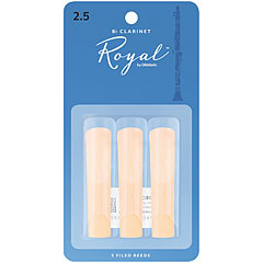 D'Addario Royal Bb-Clarinet  2,5 3er Pack « Reeds