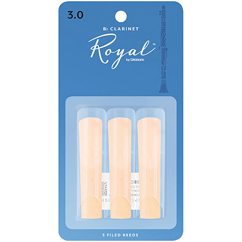 D'Addario Royal Bb-Clarinet 3,0 3er Pack