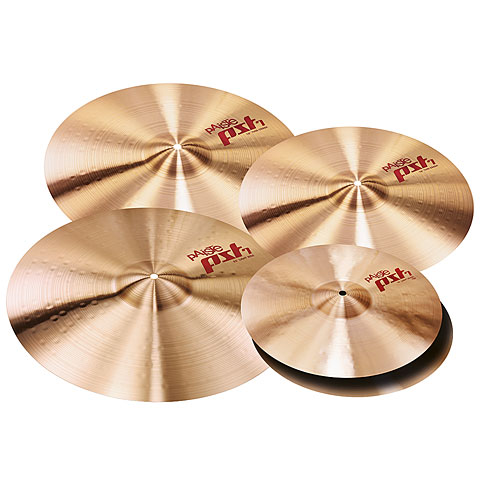 Becken-Set Paiste PST 7 Aktion Session Set Light 14HH/16C/18C/20R