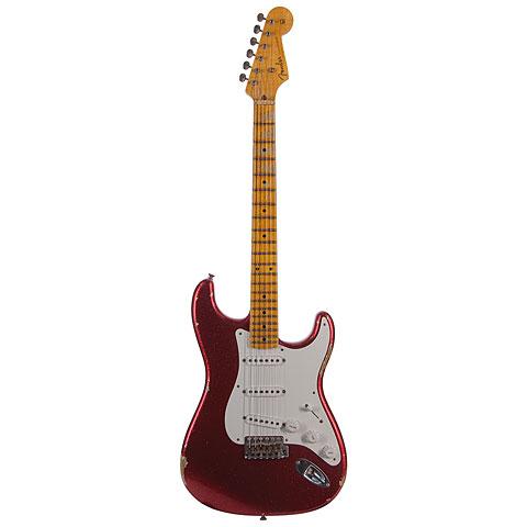 Fender Custom Shop 1955 Stratocaster Relic AG RD SPKL