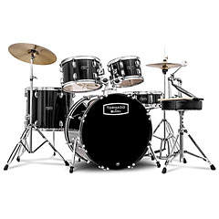 "Mapex Tornado 20"" Dark Black Drum Set « Drumstel"