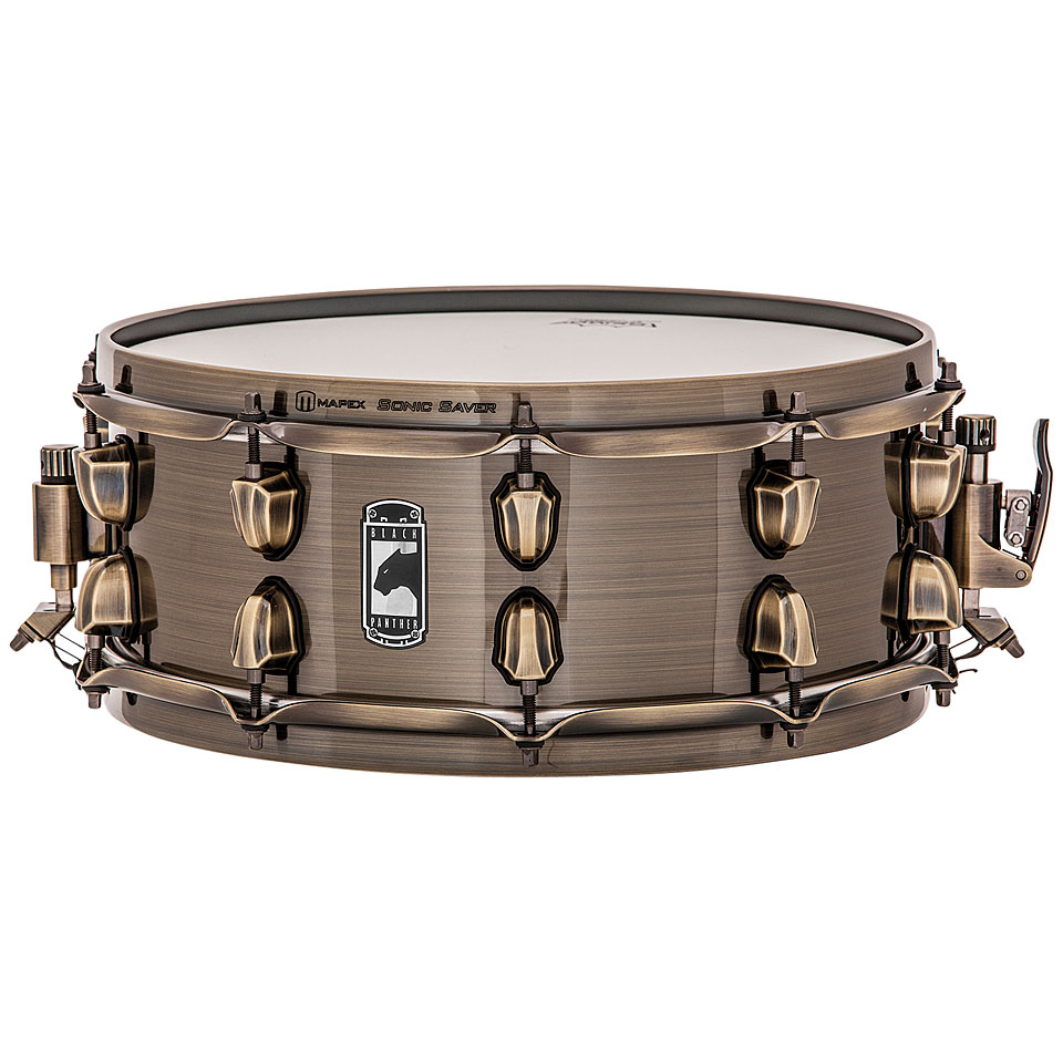 Mapex  X   Black Panther Brass Cat Snare Drum