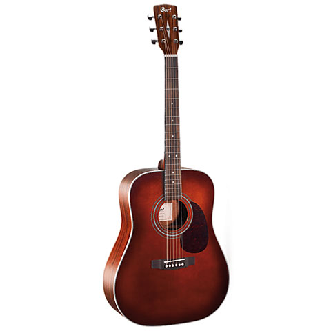 Guitare acoustique Cort Earth 70 OP BR