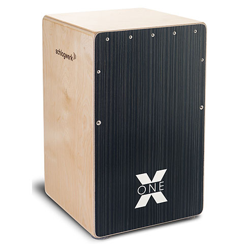 Cajón flamenco Schlagwerk CP160 X-One Hard Coal Stripes