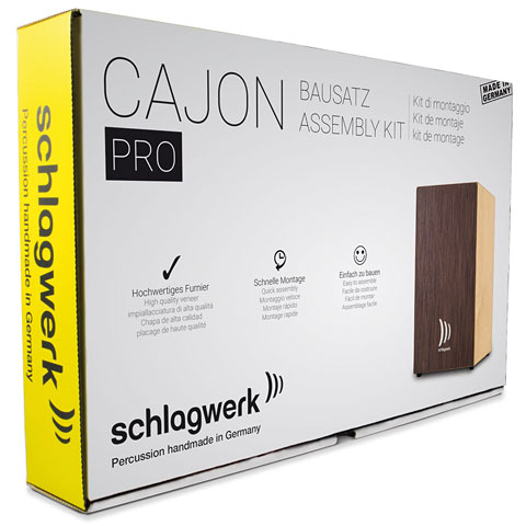 Cajon Schlagwerk CBA3SW Quick Assembly Kit Pro Wenge