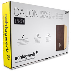 Schlagwerk CBA3SW Quick Assembly Kit Pro Wenge « Cajón flamenco