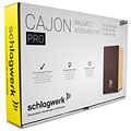 Cajón flamenco Schlagwerk CBA3SW Quick Assembly Kit Pro Wenge