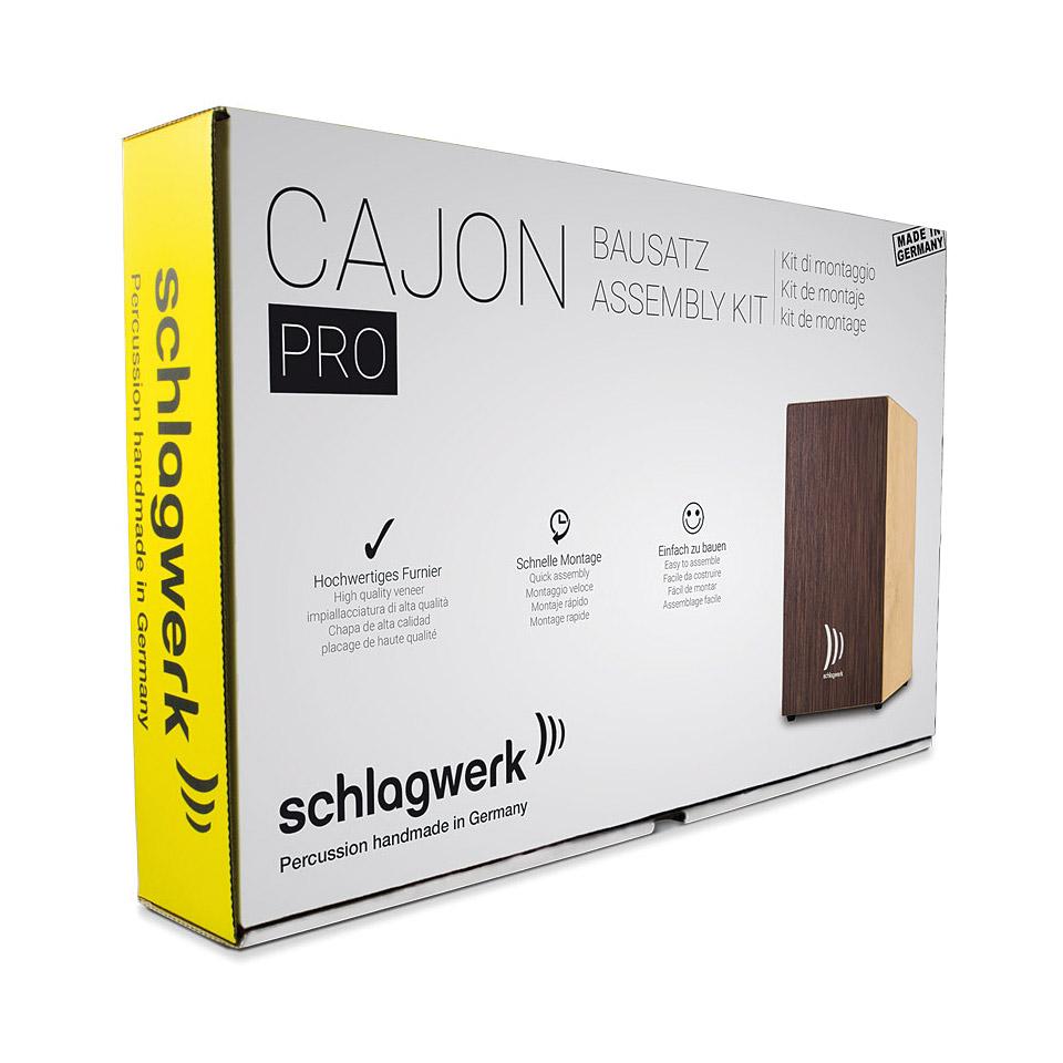Percussion - Schlagwerk CBA3SW Quick Assembly Kit Pro Wenge Cajon - Onlineshop Musik Produktiv
