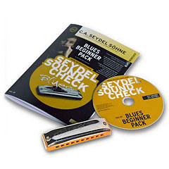C.A. Seydel Söhne Soundcheck V. 1 Steel - Blues Beginner Pack « Richter-Mundharmonika